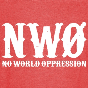 NWO: No World Oppression (1 Color) - Vintage Sport T-Shirt