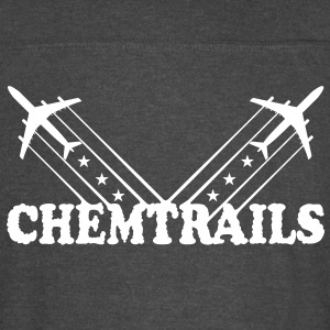 American Chemtrails (1 Color) - Vintage Sport T-Shirt