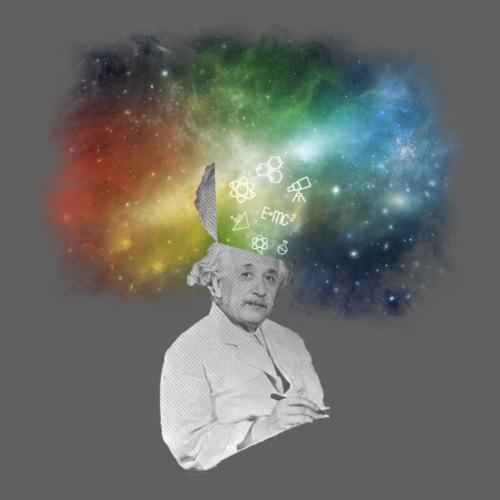 Einstein With A Galaxy