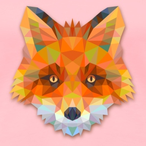 Geometric Fox T-Shirts - Women's Premium T-Shirt