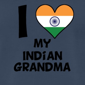 I Heart My Indian Grandma - Men's Premium T-Shirt