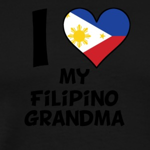 I Heart My Filipino Grandma - Men's Premium T-Shirt