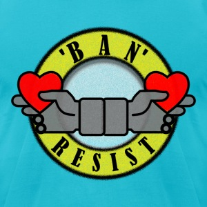 ban_resist T-Shirts - Men's T-Shirt by American Apparel