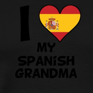 I Heart My Spanish Grandma - Men's Premium T-Shirt