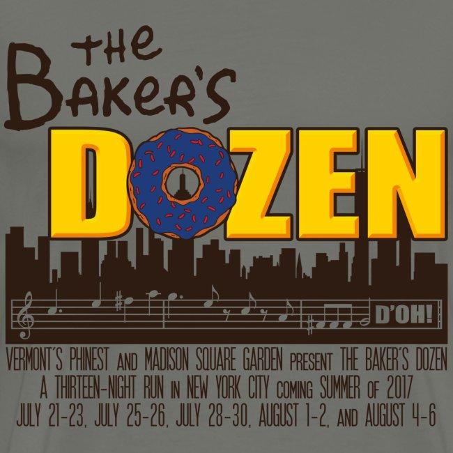 The Baker's D'OHzen Men's T-shirt (premium)