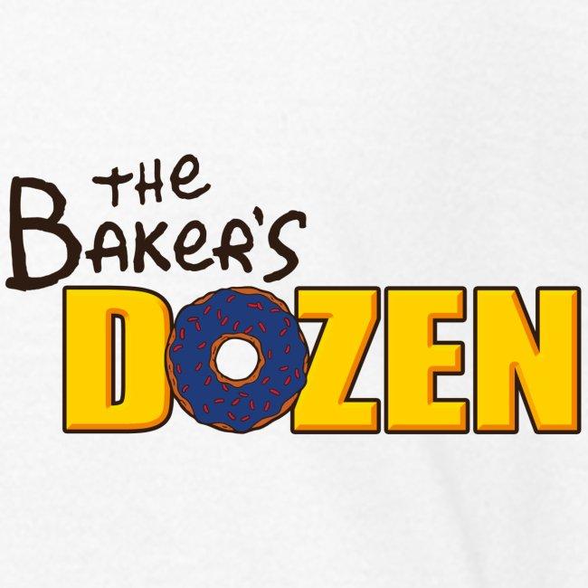 The Baker's D'OHzen Kids' T-shirt (front lapel & back)