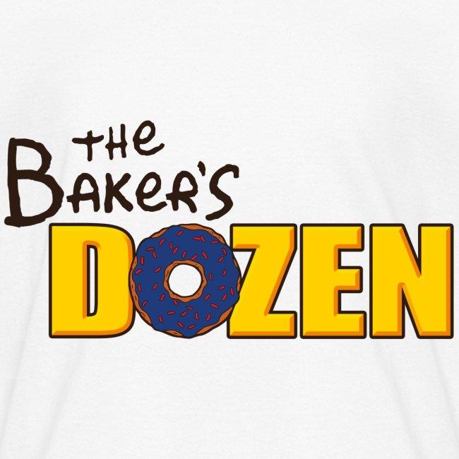 The Baker's D'OHzen Kids' T-shirt (front & back)
