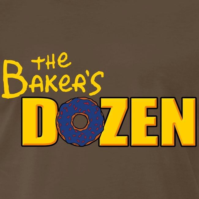 The Baker's D'OHzen Men's T-shirt (front & back) (premium)