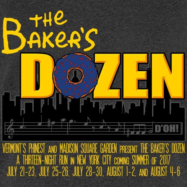 The Baker's D'OHzen Men's T-shirt