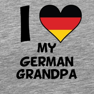 I Heart My German Grandpa - Men's Premium T-Shirt