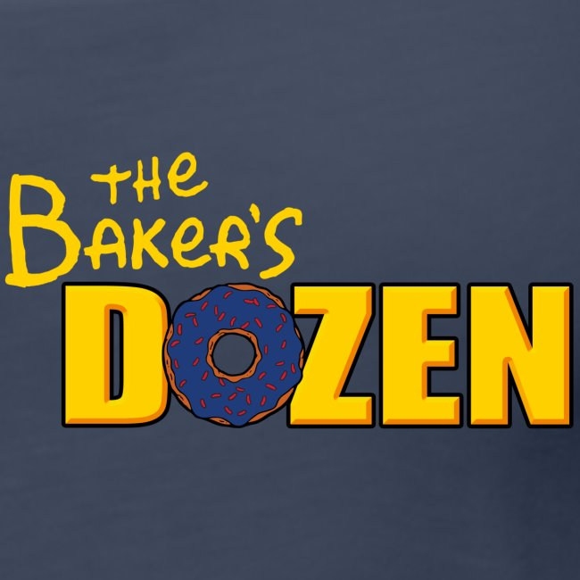 The Baker's D'OHzen Ladies' Tank Top (front lapel & back)