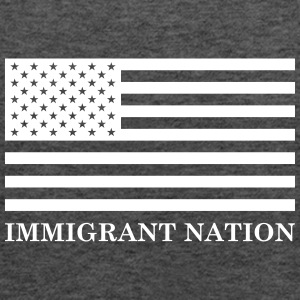 Immigrant Nation Tanks - Women's Flowy Tank Top by Bella