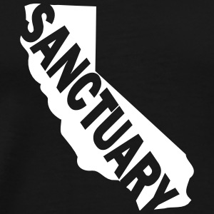 California Sanctuary State - Men's Premium T-Shirt