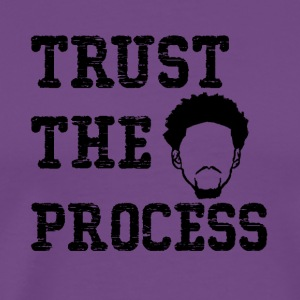 Trust The Process shirt - Men's Premium T-Shirt