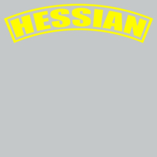 Hessian tab yellow
