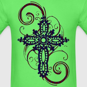 MYSTIC ERA CROSS DARK T-Shirts - Men's T-Shirt