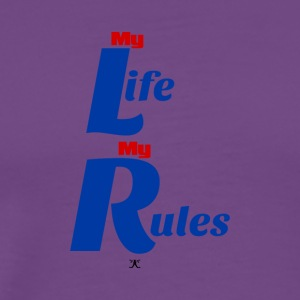 My Life My Rules - Men's Premium T-Shirt