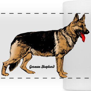 Dog German Shepherd Mugs & Drinkware - Panoramic Mug