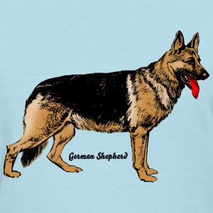 Dog German Shepherd T-Shirts - Women's T-Shirt