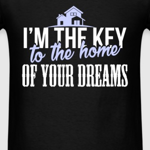 Real Estate Agent - I'm the key to the home of you - Men's T-Shirt
