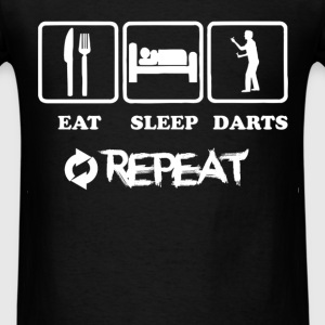 Darts - Eat. Sleep. Darts. Repeat - Men's T-Shirt