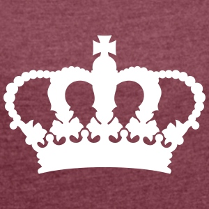 British crown T-Shirts - Women´s Rolled Sleeve Boxy T-Shirt