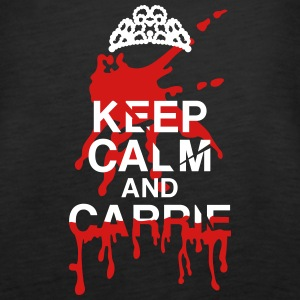 keep calm Carrie Tanks - Women's Premium Tank Top