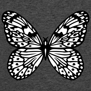 Butterfly black and white T-Shirts - Men's 50/50 T-Shirt
