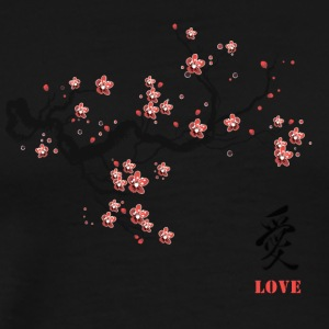 cherry blossom - Men's Premium T-Shirt
