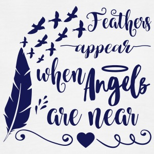 Feathers appear when angels are near Tanks - Women's Flowy Muscle Tank by Bella