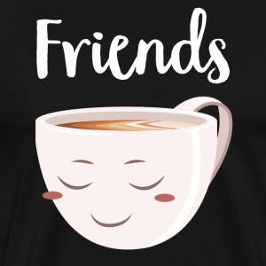 Best Friends - Donut | Coffee (Part2) T-Shirts - Men's Premium T-Shirt