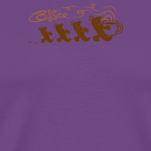 aroma of coffee - Men's Premium T-Shirt