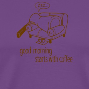 Morning coffee - Men's Premium T-Shirt