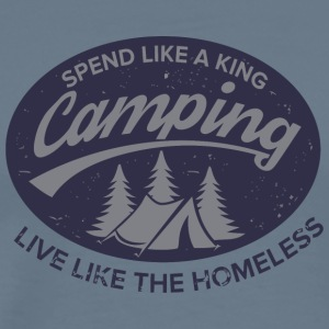 Irony of Camping - Men's Premium T-Shirt