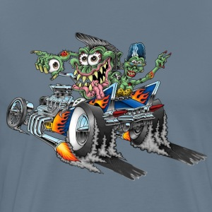 Burnout  Monsters - Men's Premium T-Shirt