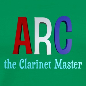 ARC the Clarinet Master - Streetwear (Black) - Men's Premium T-Shirt