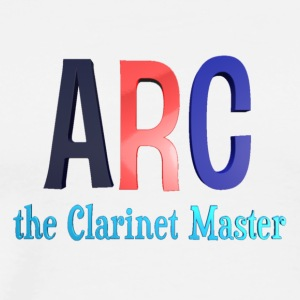 ARC the Clarinet Master - Streetwear (White) - Men's Premium T-Shirt