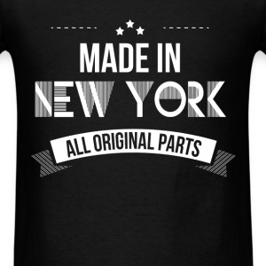 New York - Made In New York. All original parts - Men's T-Shirt