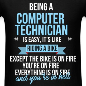 Computer technician - Being a computer technician - Men's T-Shirt