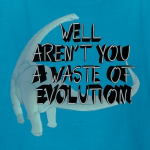 Waste of Evolution - Kids' T-Shirt