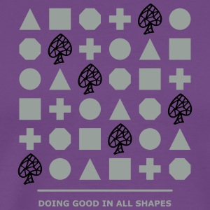 Shapes - Doing Good - Men's Premium T-Shirt