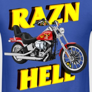 Razn Hell - Men's T-Shirt