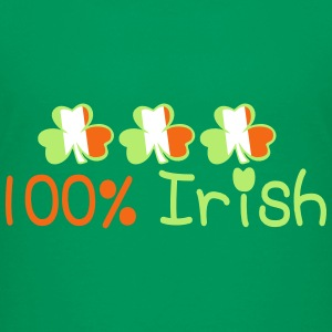 ♥ټ☘I'm 100% Irish-Irish Power Kids Tee☘ټ - Kids' Premium T-Shirt