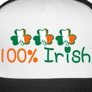 ♥ټ☘I'm 100% Irish-Irish Power Trucker Hat☘ - Trucker Cap