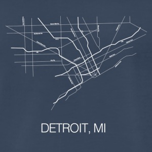 Detroit, MI - Men's Premium T-Shirt