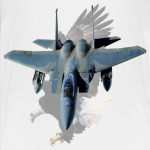 F-15 With Eagle - Kids' Premium T-Shirt