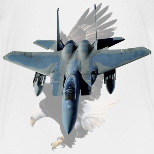 F-15 Eagle With American Eagle