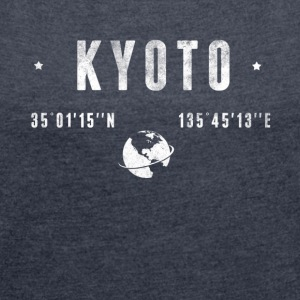 Kyoto T-Shirts - Women´s Rolled Sleeve Boxy T-Shirt