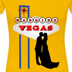 Married in Vegas - Women's Premium T-Shirt