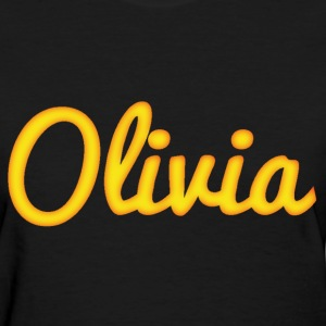 Olivia in Gold - Women's T-Shirt